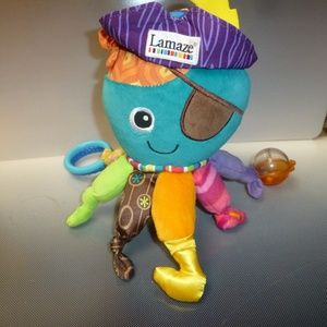 OCTOPUS LAMAZE  COLORFUL SENSORY PLUSH TOY